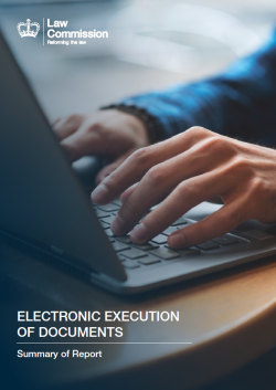 e-Execution of Docs - LC Report Cover 2019