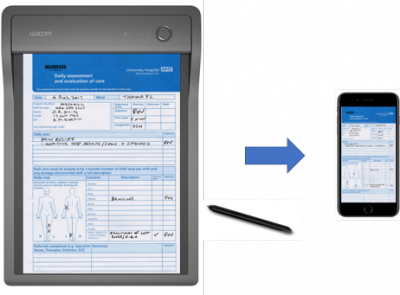 Clipboard - NHS Paper Form to Digital on Mobile - Small